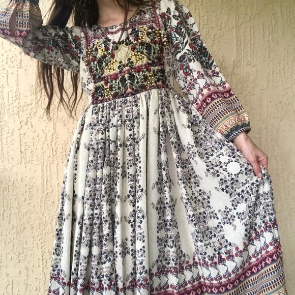 fe0a66ec876f6 Anthropologie Dresses & Skirts - Anthropologie Bhanuni Farfields Maxi Dress